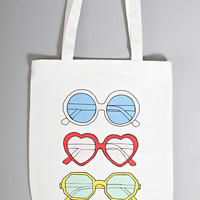ban.do canvas tote - sunnies