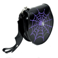 Spider Web CD / DVD / Disc Holder Wallet Case Holds 24 Discs
