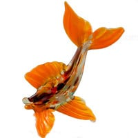 Glass Fish Hand-Blown Collectible  Figurine (code 110)