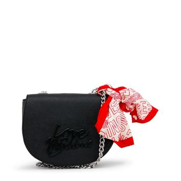 Love Moschino Black Magnetic Fastening Clutch Bag