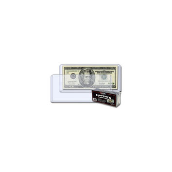 BCW CURRENCY TOPLOAD HOLDER – REGULAR BILL