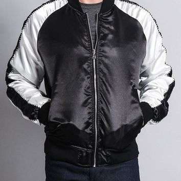 Satin Bomber Jacket 17191-5110 - KK1E