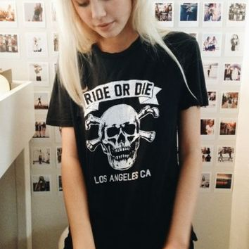 VIOLET RIDE OR DIE TOP