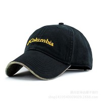 Day-First™ Black Columbia Unisex Adjustable Performance Classic Outdoor Flex Fitted Hat hat