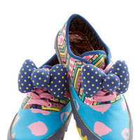 Irregular Choice Urban Hello, Bold Sport! Sneaker