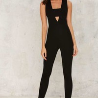 Got It Good Plunging Jumpsuit