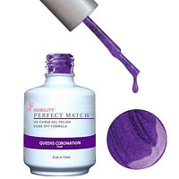 LeChat Perfect Match Gel / Lacquer Combo - Queens Coronation 0.5 oz - #PMS73