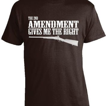 2nd Amendment Gives Me the Right T-Shirt