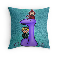 'Tessie ' Throw Pillow by likelikes