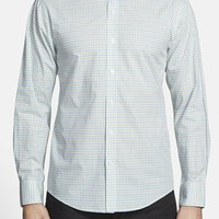 Men's Vince Camuto Slim Fit Windowpane Sport Shirt
