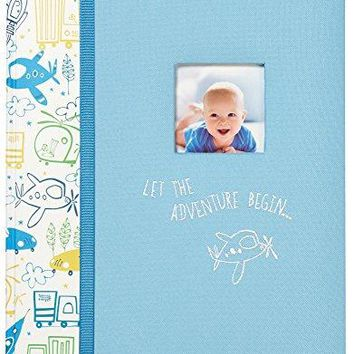 """""""Let The Adventure Begin"""" Perfect-Bound Memory Book for Newborns and Babies"""