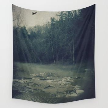 Darkness Prevails Wall Tapestry by Faded  Photos