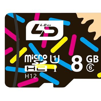 8GB Class 6 Flash Memory Card