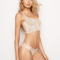 Chantilly Lace Strapless Bustier - Dream Angels - Victoria's Secret