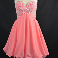 Lovely Short/ Mini A-Line Cocktail Prom Cheap 2013 New