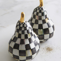MacKenzie-Childs Courtly Check Salt & Pepper Set