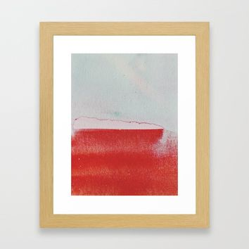 what remained Framed Art Print by duckyb