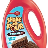 General Mills Betty Crocker Shake N Pour Brownie Mix, 13.75-Ounce