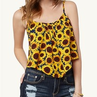 Sunflower Crop Swing Tank