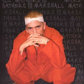 Eminem Orange Jumpsuit Portrait Poster 22x34