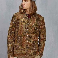 Oxford Lads Printed Button-Down Shirt