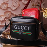 GUCCI WOMEN'S 2018 NEW STYLE LEATHER OPHIDIA INCLINED SHOULDER BAG