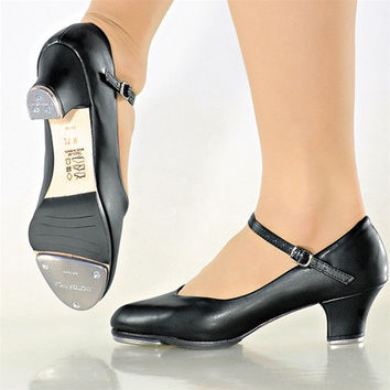 "Ladies 1.5"" Heel Tap So Danca TA-55"