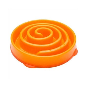 Fun Feeder Interactive Slow Feed Bowl — Coral