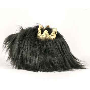 Fluff Ball Slippers Crown