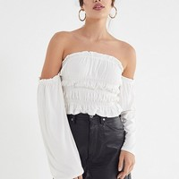 UO Byron Off-The-Shoulder Top | Urban Outfitters