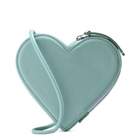 Christopher Kane Light Green Heart Shape Bag - Light Green Heart Shape Bag