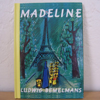Vintage Hardcover Madeline book Madeline by by TheShopatPoohCorner