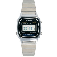 Casio Black & Silver Mini Digital Watch