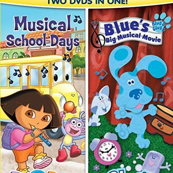 Dora & Blue's Clues Double Feature: Dora Musical School Days & Blue's Big Musical Movie