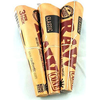 Raw Kingsize Pre-Rolled Cones (3 Pack)