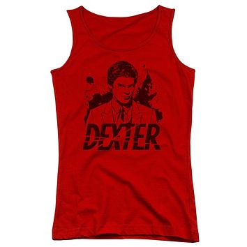 Dexter - Splatter Dex Juniors Tank Top