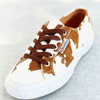 Superga 2750 Leahors Sneaker- Brown Multi