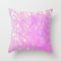 Bubblicious Pink Throw Pillow by Ally Coxon | iphone case |skins|cards|print and more at Society6