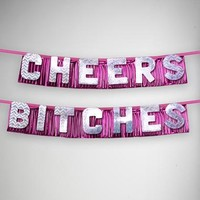 "Cheers Bitches 51"" Banner"