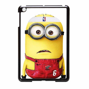 Despicable Me Minion Miami Heat Lebron James iPad Mini Case