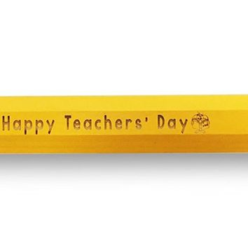 "Super Jumbo Giant Pencil - ""Happy Teacher's Day"" Cute Novelty TEACHER PRINCIPAL Appreciation Gift"