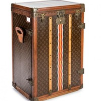 Louis Vuitton 12 Pair Shoe Trunk, Circa 1940's | World's Best