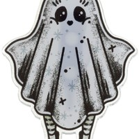 CREEP HEART GHOST GIRL MINI PIN