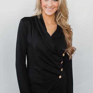 The Perfect Occasion Jacket- Black