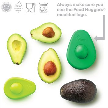 Avocado Huggers by Food Huggers - Set of Two