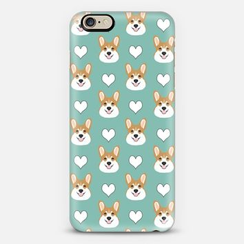 Corgi love welsh corgi owners cute gifts iphone6 customizable case dog lover pet owners pet person dog person iPhone 6 case by Pet Friendly | Casetify
