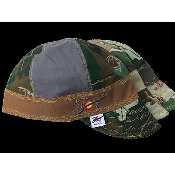 111afce21591a Mixed Panel Deer Camo 🦌 Hybrid Welding Cap Choose your band Colo