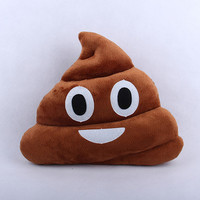Aliexpress.com : Buy 2014 Hot Soft Emoji Cute Cushion Shit Poop Poo Pillow Stuffed Toy Doll Gifts Xmas Christmas Present Whatsapp from Reliable doll accessories suppliers on heason_dee | Alibaba Group