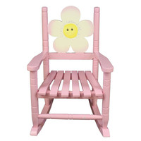 Teamson Kids - Safari Rocking Chair - Flower