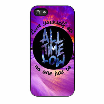 All Time Low Love Yourself Design iPhone 5 Case